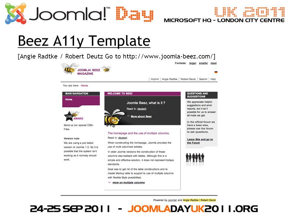 Beez A11y Template [Angie Radtke / Robert Deutz Go to http://www.joomla-beez.com/]